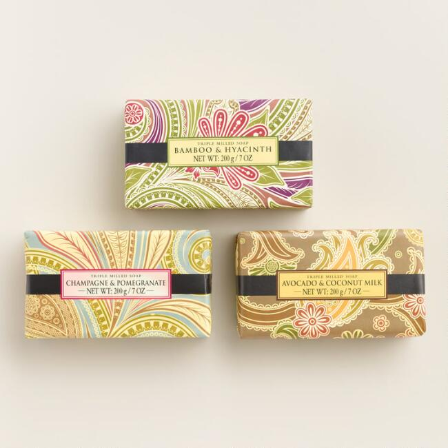 Triple Milled Bar Soap Collection