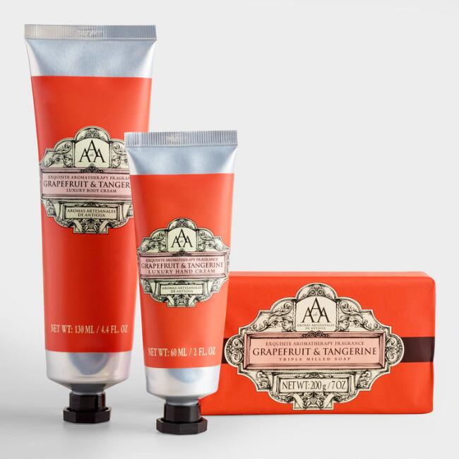 AAA Tangerine Soap and Lotion Collection