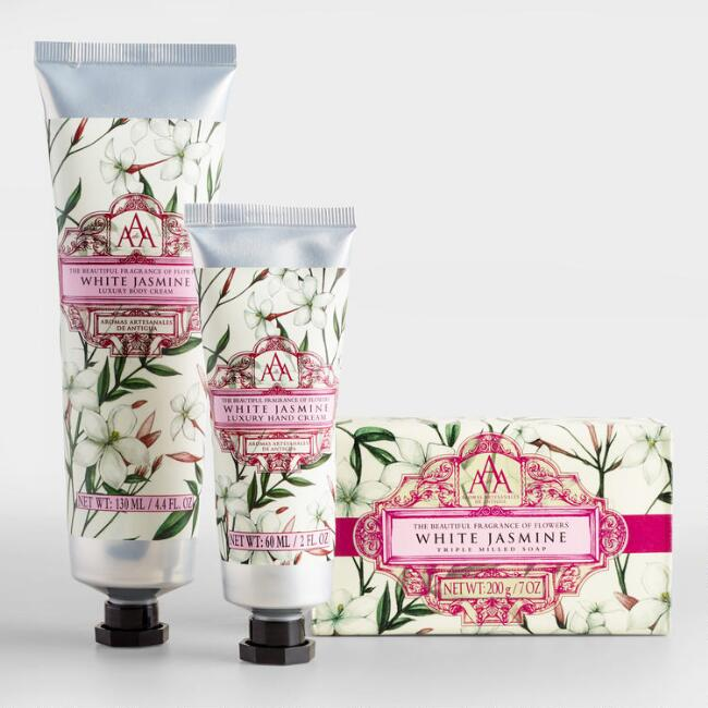 AAA Jasmine Bar Soap and Lotion Collection