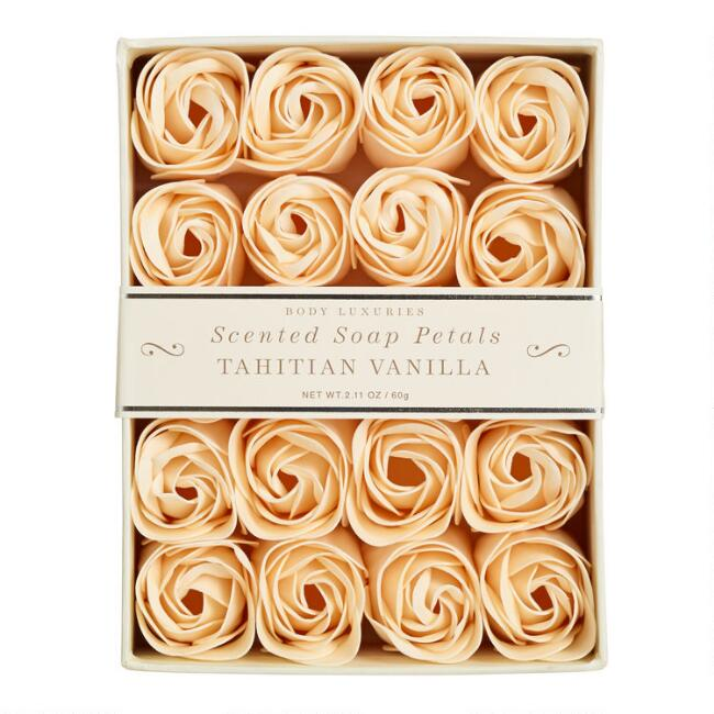 Vanilla Soap Petals, 20 Pieces