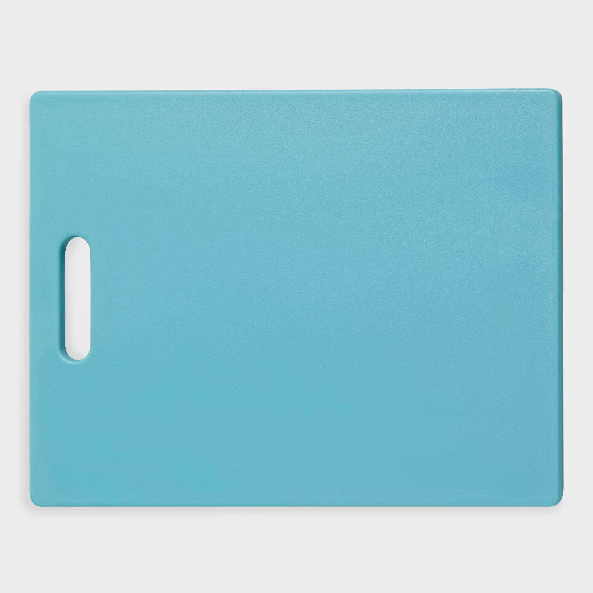Aqua Cutting Board: Blue by World Market