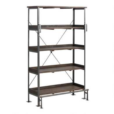 Wood and Steel Emerson Bookshelf