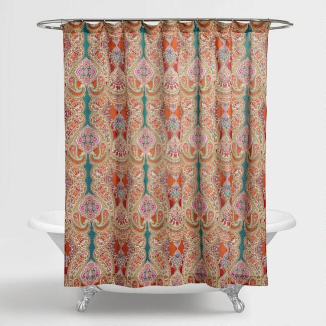 Paisley Venice Shower Curtain