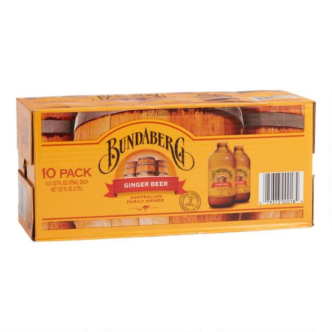 Bundaberg Ginger Beer 10PK