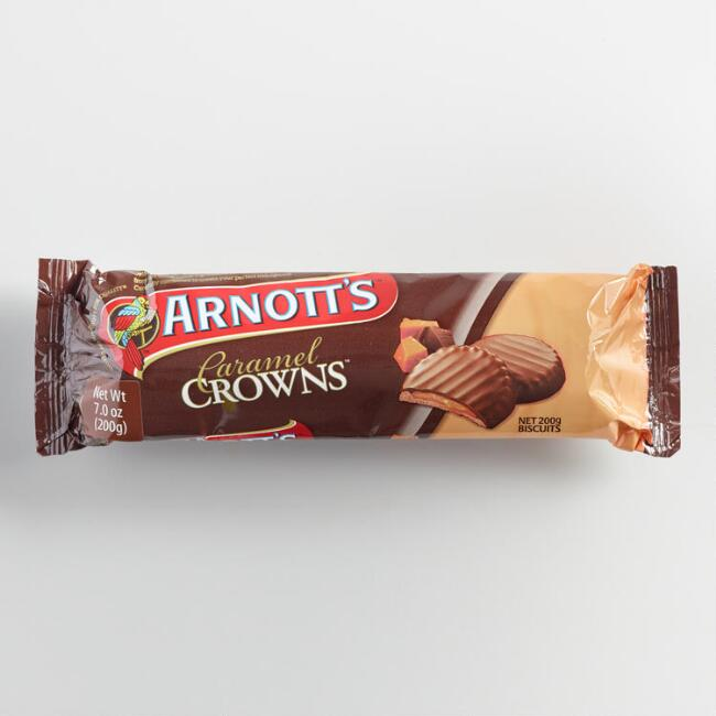 Arnott's Chocolate Caramel Crowns, Set of 4