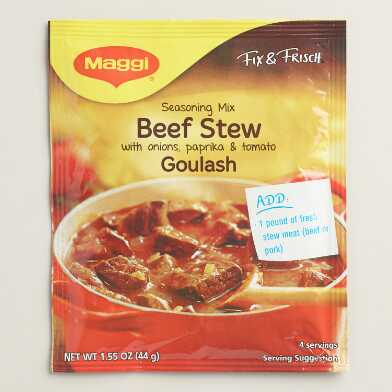 Maggi Beefstew Seasoning, Set of 17