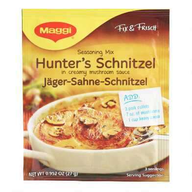 Maggi Hunter's Schnitzel Seasoning Mix Set of 11