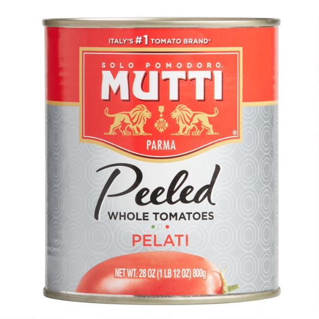 Mutti Peeled Tomatoes Set Of 6