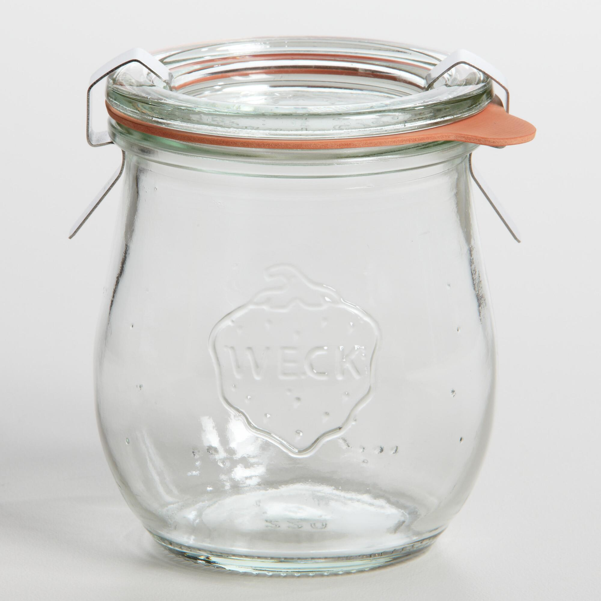 Extra Small Glass Weck Tulip Jar by World Market