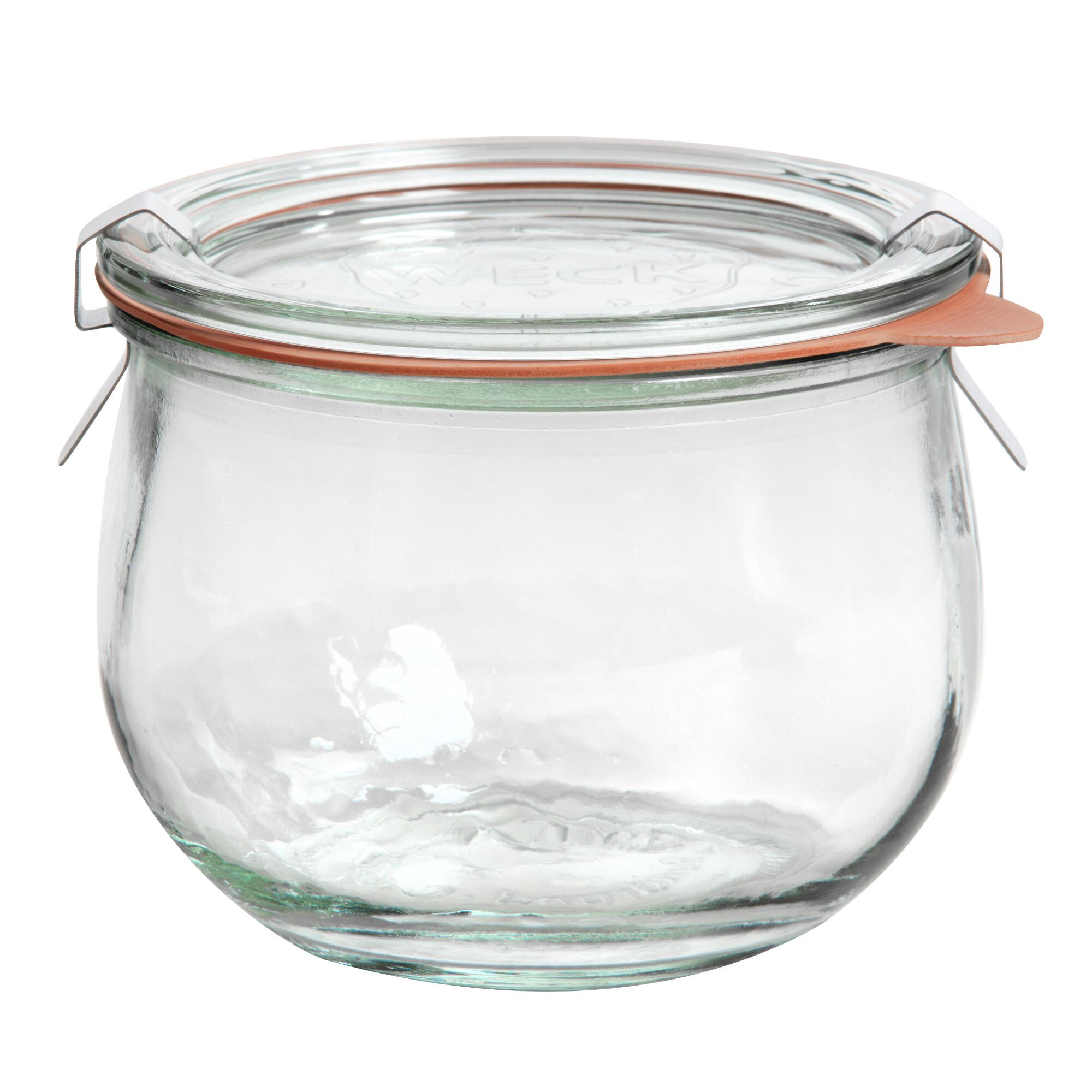 Small Glass Weck Tulip Jar by World Market