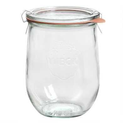 Medium Glass Weck Tulip Jar