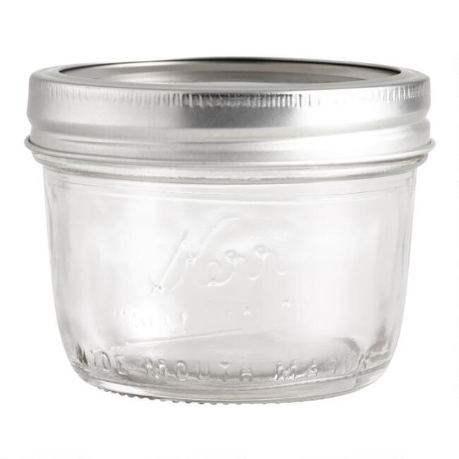 Kerr Wide Mouth Half Pint Jars Set Of 12