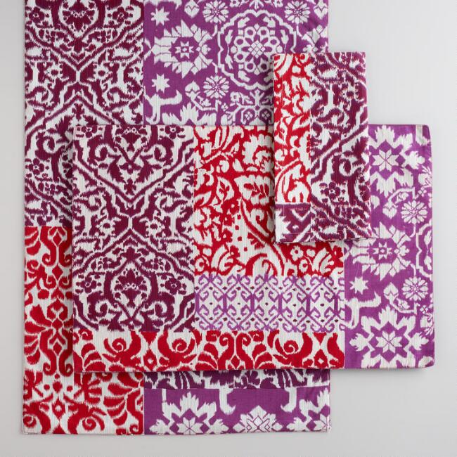 Patchwork Medallion Table Linens Collection