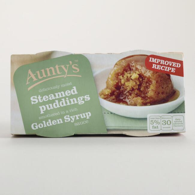 Aunty's Golden Syrup Steamed Pudding, Set of 6
