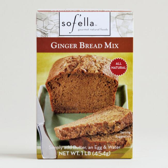 Sof'ella Ginger Bread Mix, Set of 2