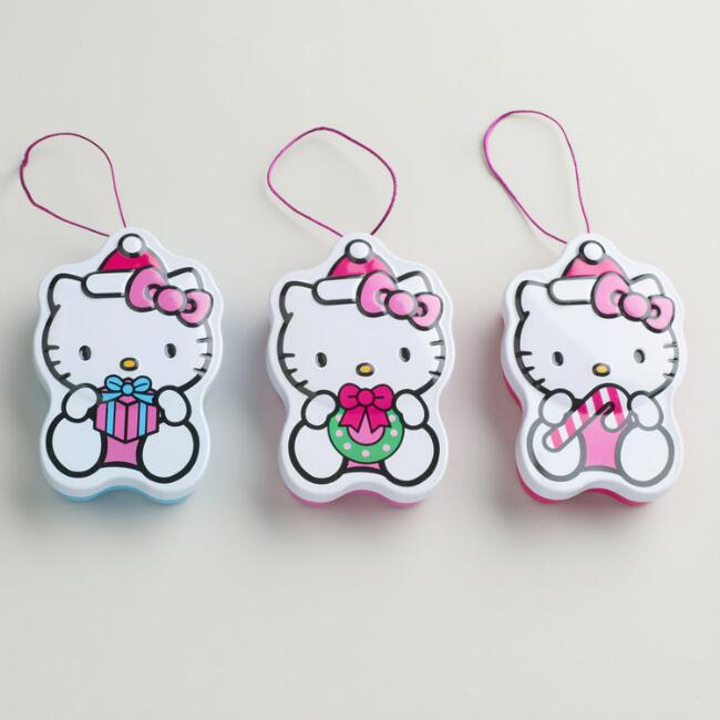 Hello Kitty Snowman Sweets
