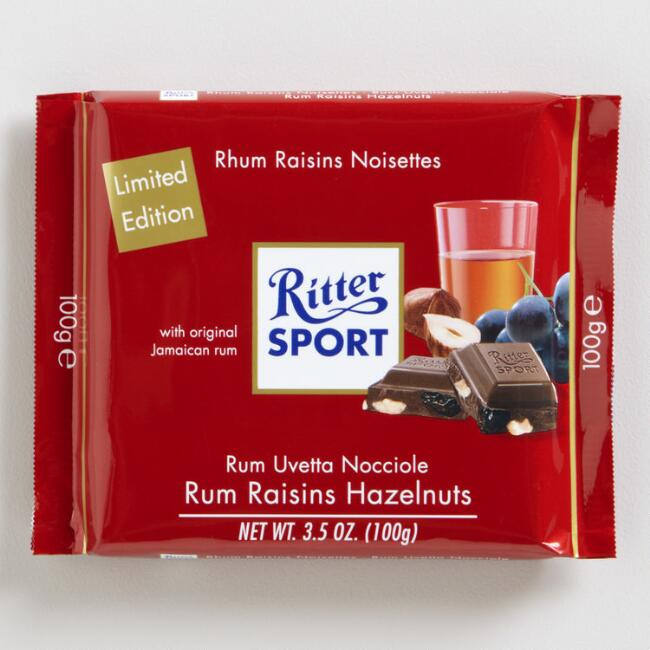 Ritter Sport Rum Raisin Bar