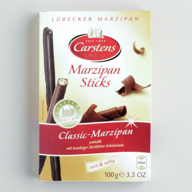 Schluckwerder Classic Marzipan Dark Chocolate Stick Set of 3