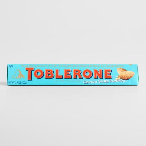 Toblerone Crunchy Salted Almond Bar, Set of 5 on books sale, white sale, green sale,