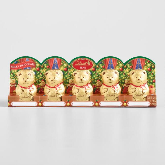Lindt Mini Teddy Bears, Set of 12