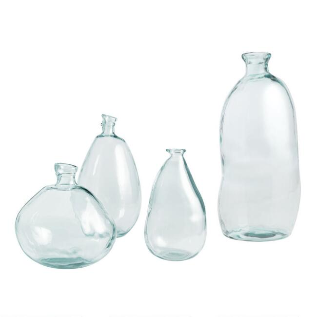 Clear Barcelona Vases World Market