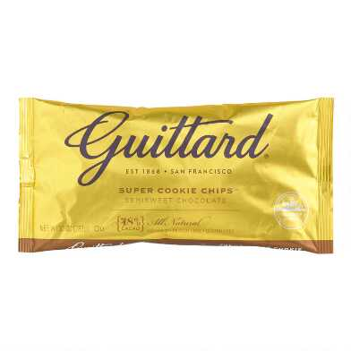 Guittard Semisweet Chocolate Super Cookie Chips