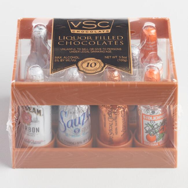 VSC Liquor-Filled Chocolate Assortment, 10-Piece