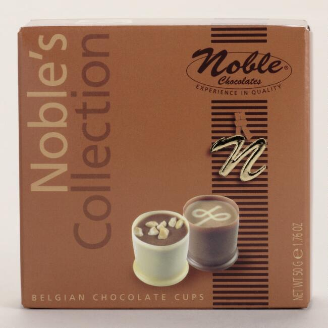 Noble Belgian Chocolate Cups Collection