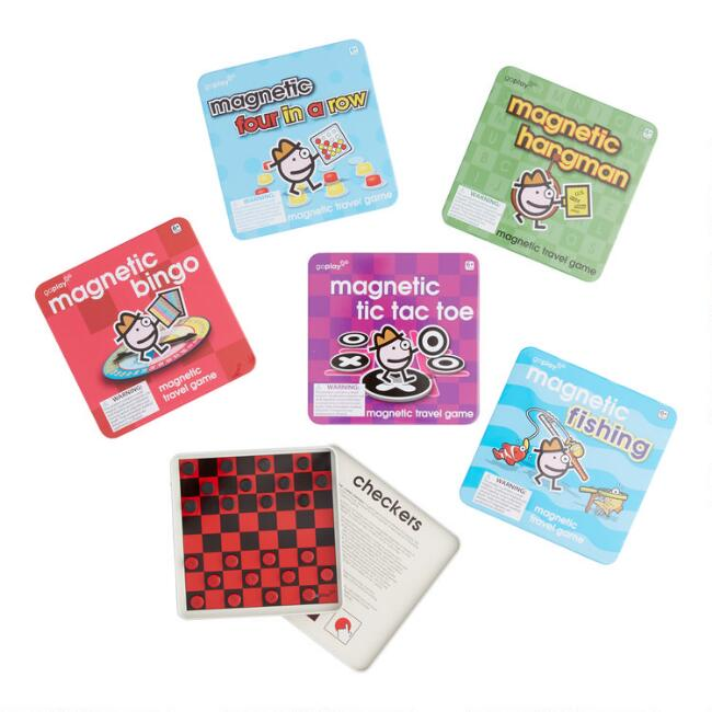 Magnetic Puzzle Games, Set of 6