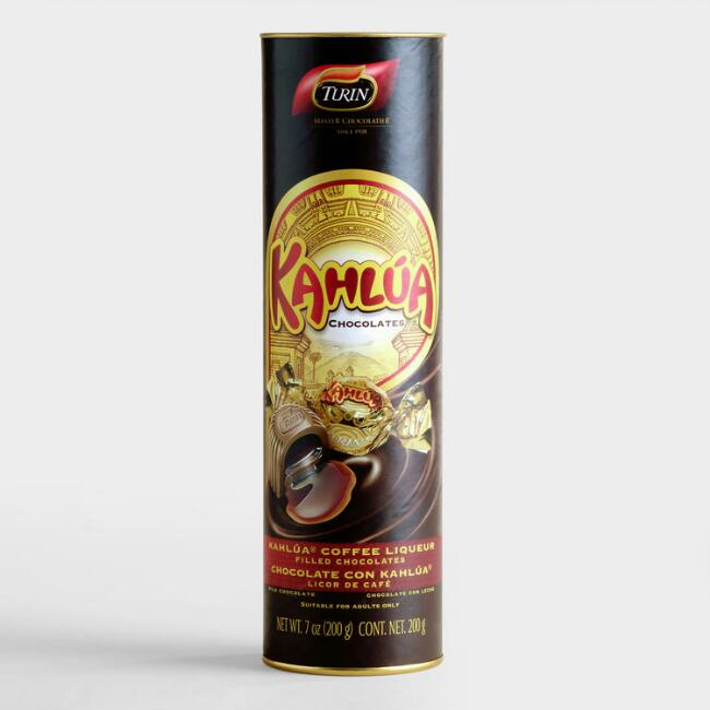 Turin Kahlua-Filled Milk Chocolates