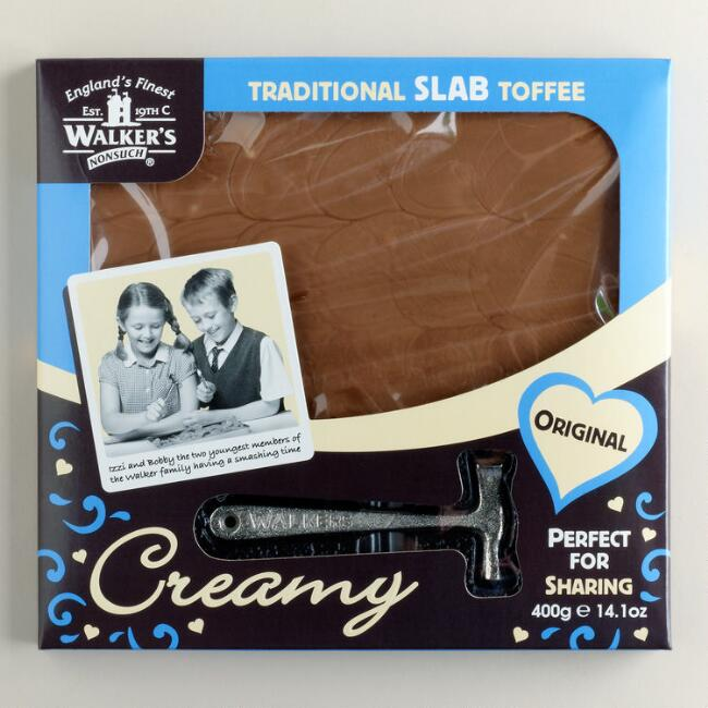 Walkers Nonsuch Original Creamy Slab Toffee