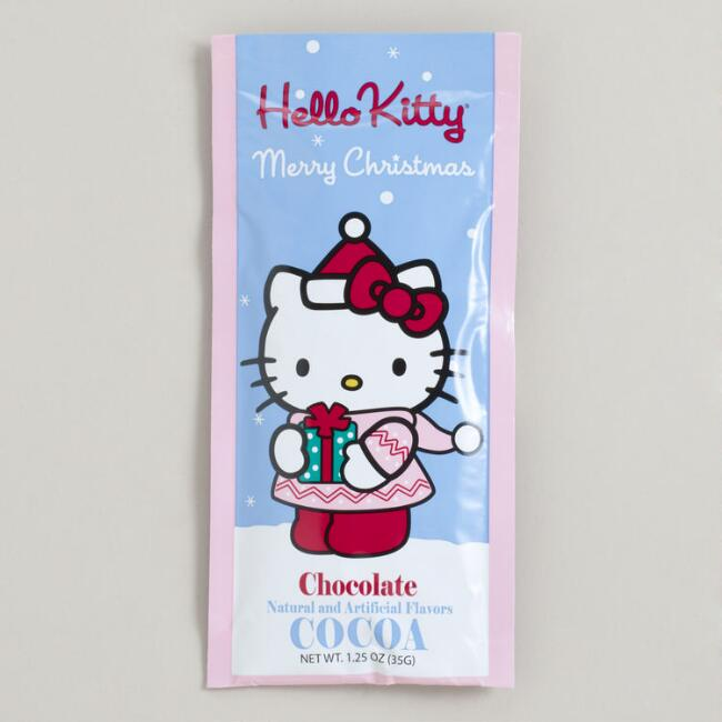 Hello Kitty Christmas Cocoa Packet