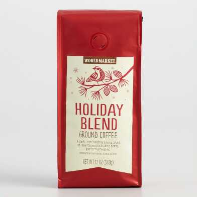 12 Oz. World Market® Holiday Blend Ground Coffee