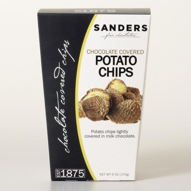 Sander's Chocolate Covered Potato Chips