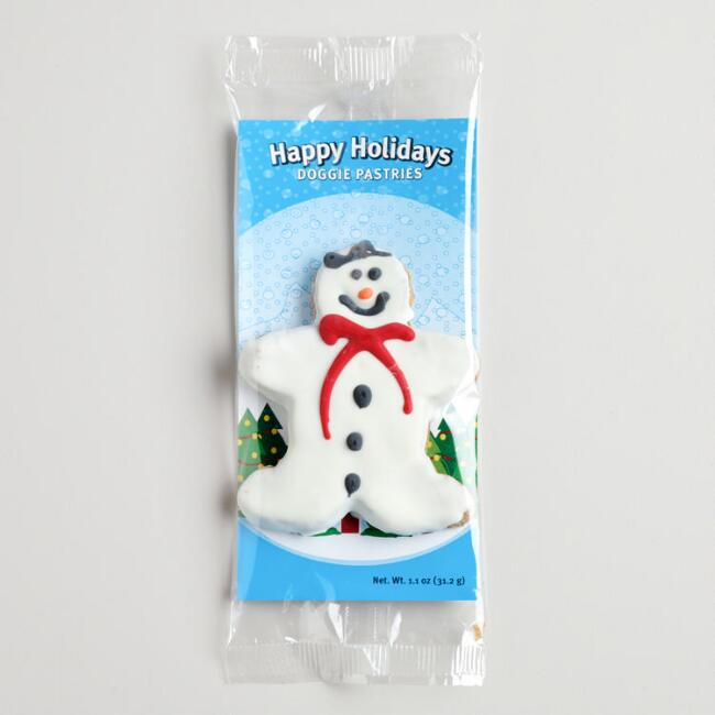 Doggie Pastries Snowman Cookie for Dogs