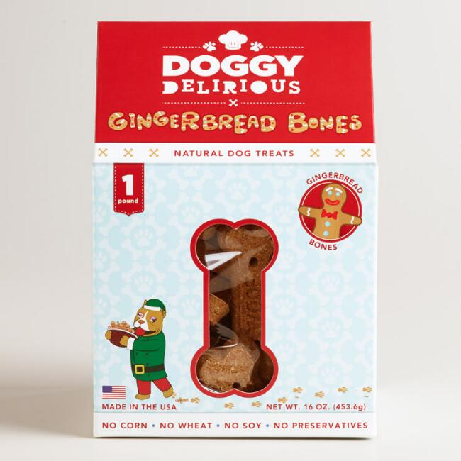 Doggy Delirious Gingerbread Dog Treats