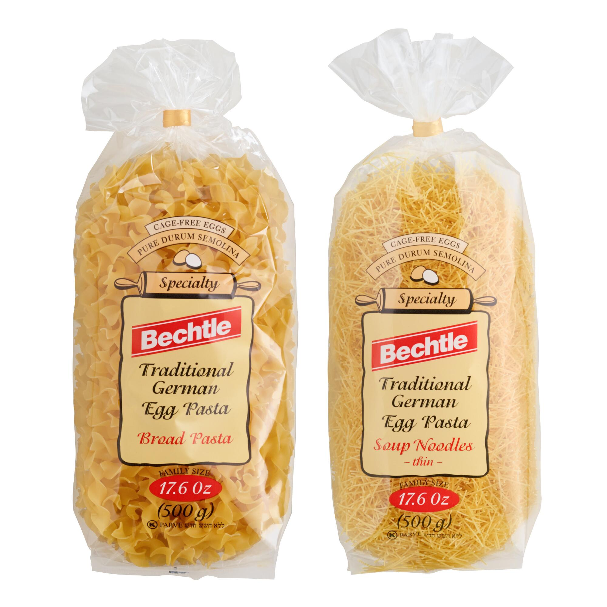 Bechtle German Egg Pasta - Thineggnoodle by World Market Thineggnoodle