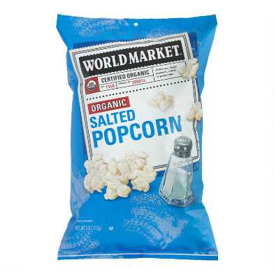World Market® Organic Salted Popcorn Set of 12