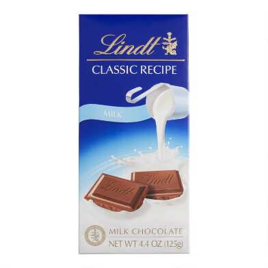 Lindt Classic Milk Chocolate Bar