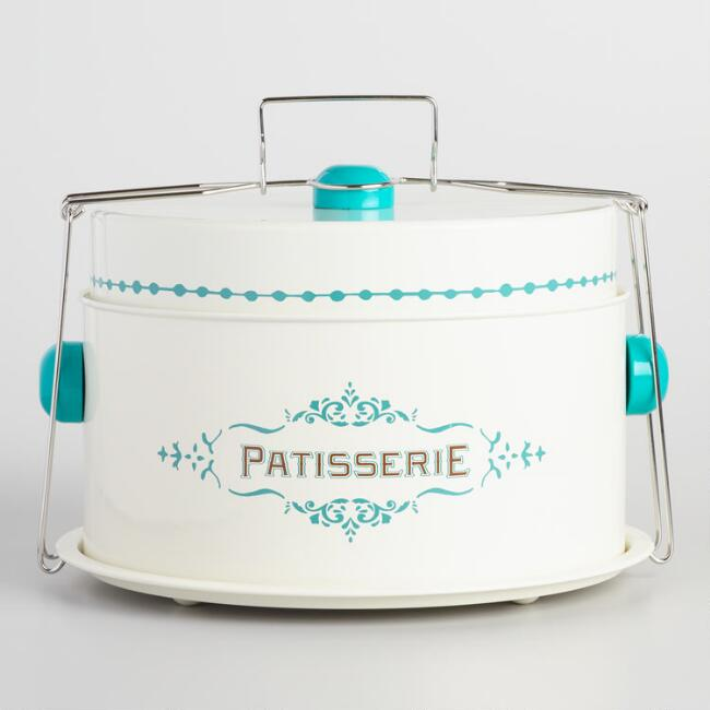 Cream Patisserie Cake Carrier