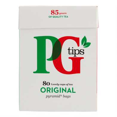PG Tips Black Tea 80 Count