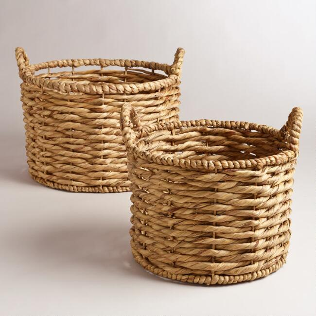 Water Hyacinth Jessica Baskets