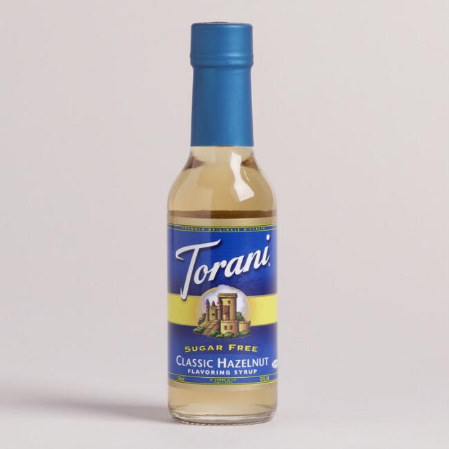 Mini Torani Sugar Free Hazelnut Syrup, Set of 12
