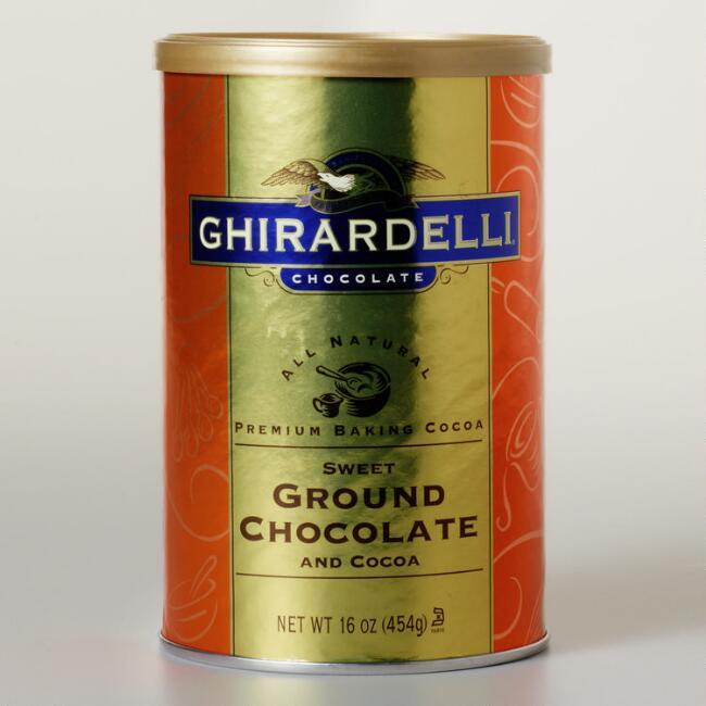 Ghirardelli Sweet-Ground Chocolate Baking Cocoa