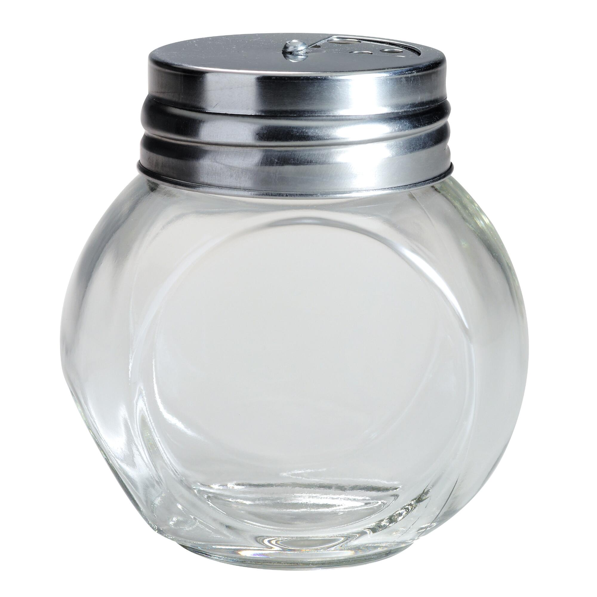 Round spice jars with metal shaker lids set of 4 world market