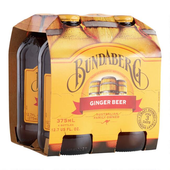 Bundaberg Ginger Beer, 4-Pack