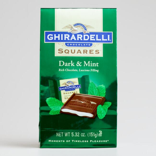 Ghirardelli Dark Chocolate Mint-Filled Bag
