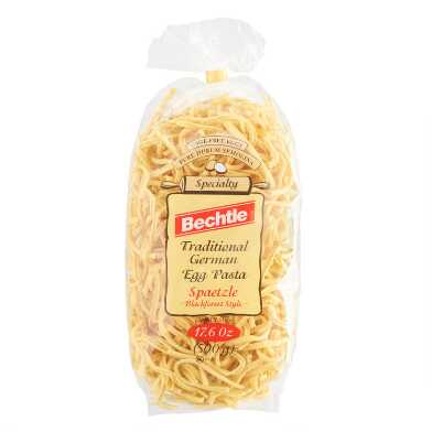 Bechtle Traditional Blackforest Spaetzle Egg Pasta
