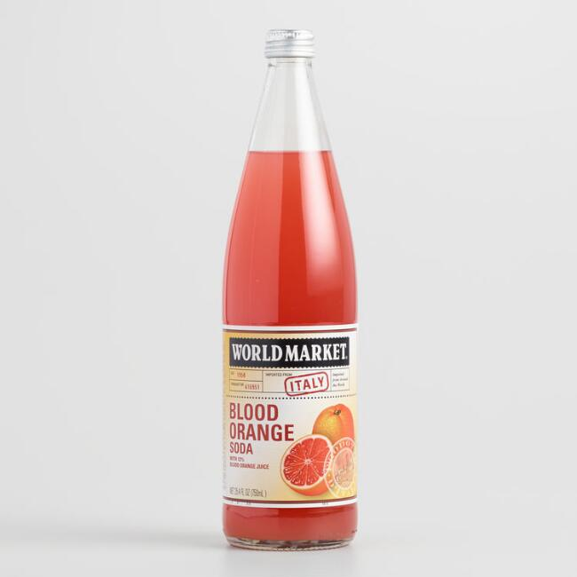 World Market® Blood Orange Italian Soda