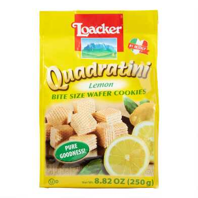 Loacker Quadratini Lemon Wafers